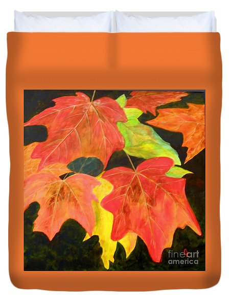 Autumn's Glow  Duvet Cover