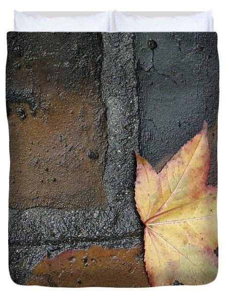 Autumn's Leaf Duvet Cover
