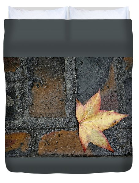 Autumn's Leaf Duvet Cover