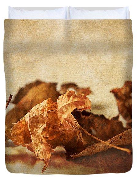 Autumn's Leavings Duvet Cover