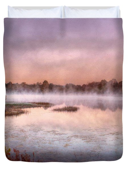 Autumns Light Duvet Cover by Darren Fisher