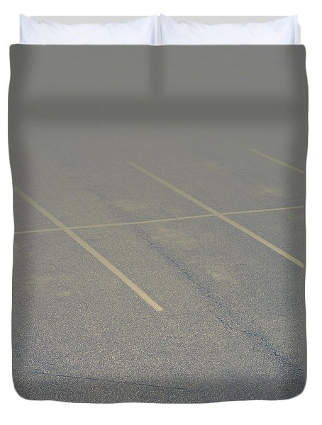 Available Parking Duvet Cover