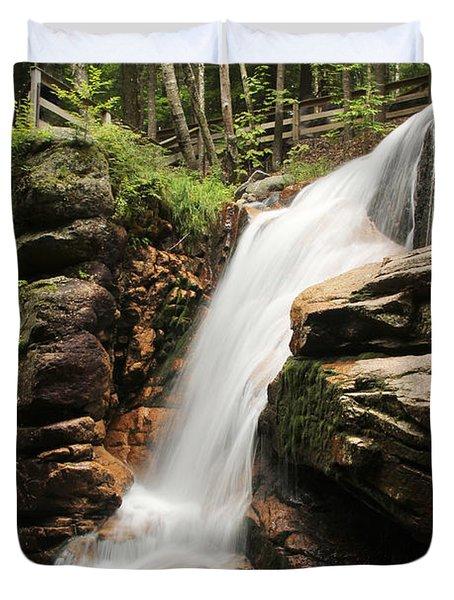 Avalanche Falls Duvet Cover