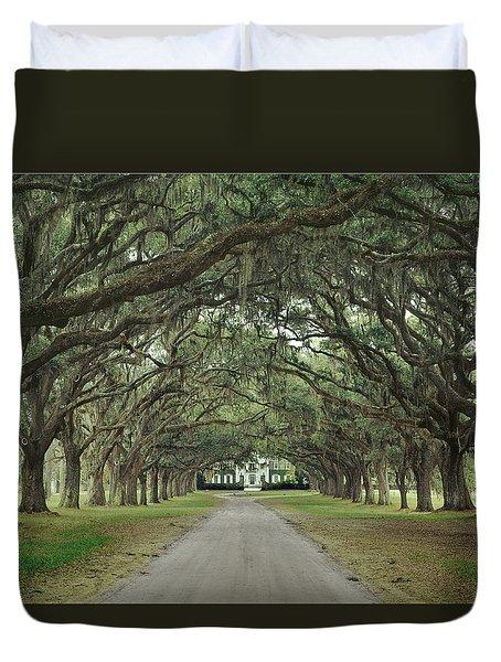 147706-avenue Of The Oaks  Duvet Cover