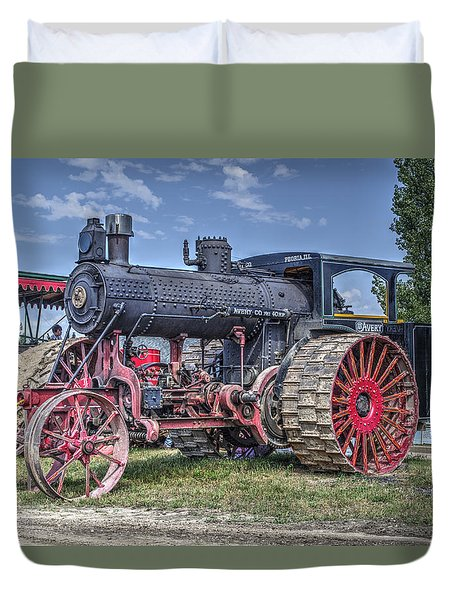 Avery 40 Hp  Duvet Cover