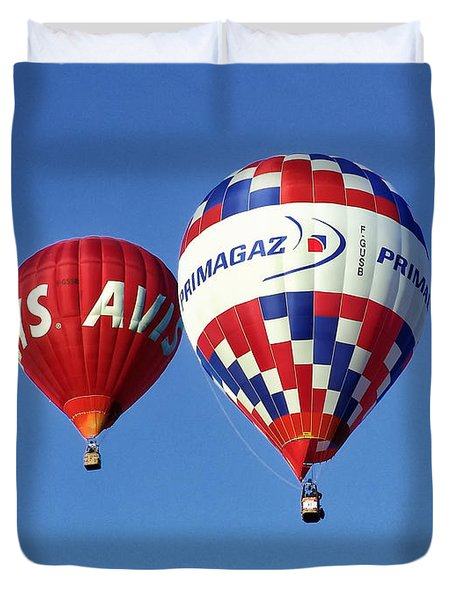 Avis Balloon Duvet Cover