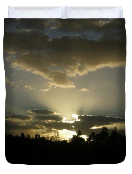 Awakening Duvet Cover by Bev Conover