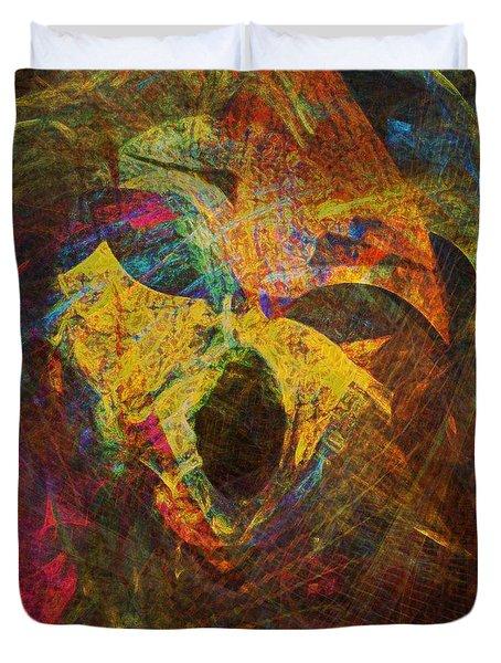 Awakening Duvet Cover by Klara Acel