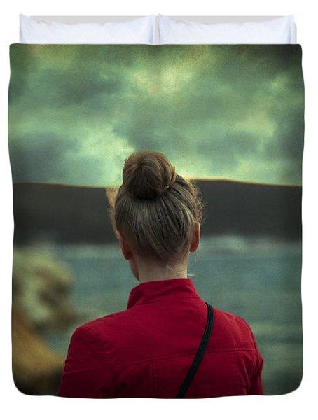 Awakening Duvet Cover by Taylan Apukovska