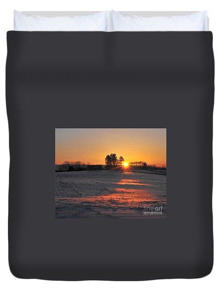 Duvet Cover featuring the photograph Awakening by Terri Gostola