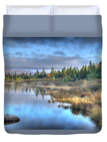 Awakening Your Senses Duvet Cover