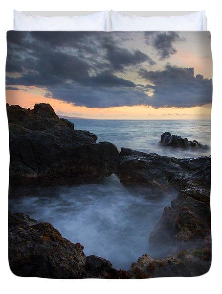 Awash Duvet Cover by Mike  Dawson