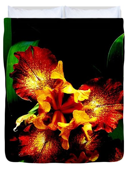 Awesome Iris Duvet Cover