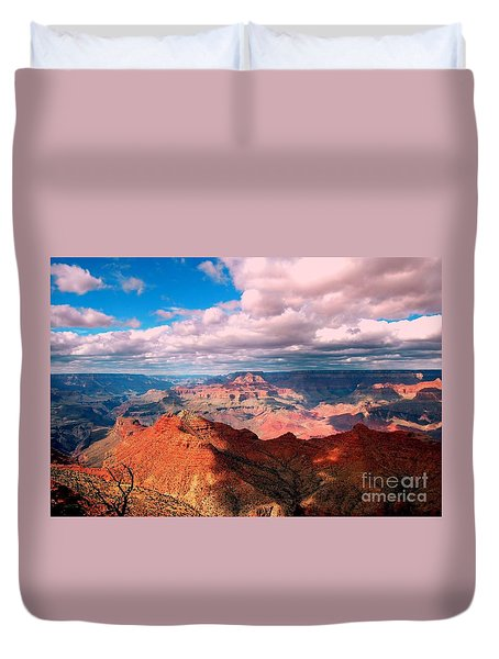 Awesome View Duvet Cover by Kathleen Struckle