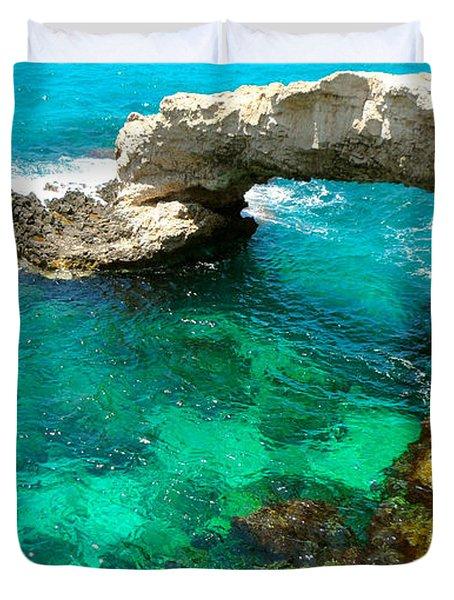 Ayia Napa In Cyprus Duvet Cover