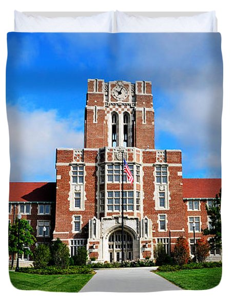Ayres Hall Duvet Cover