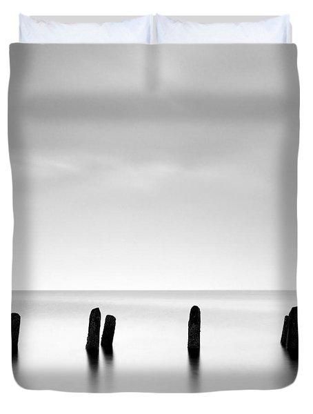 Ayrshire Coast Duvet Cover by Grant Glendinning