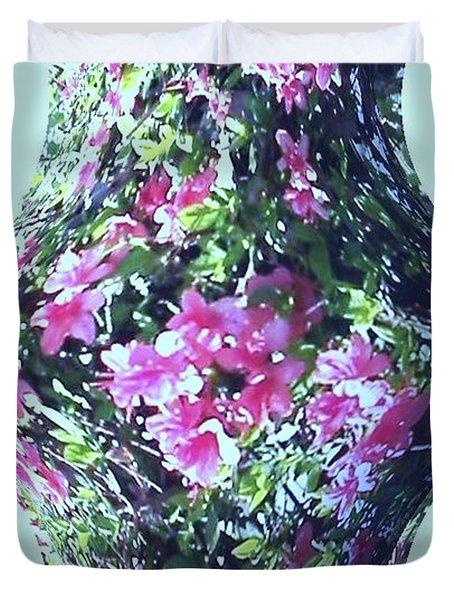 Azalea Vase Duvet Cover