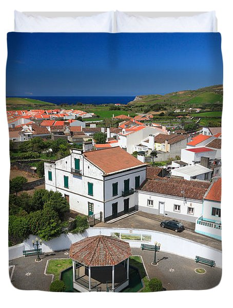 Azorean Parish Duvet Cover by Gaspar Avila
