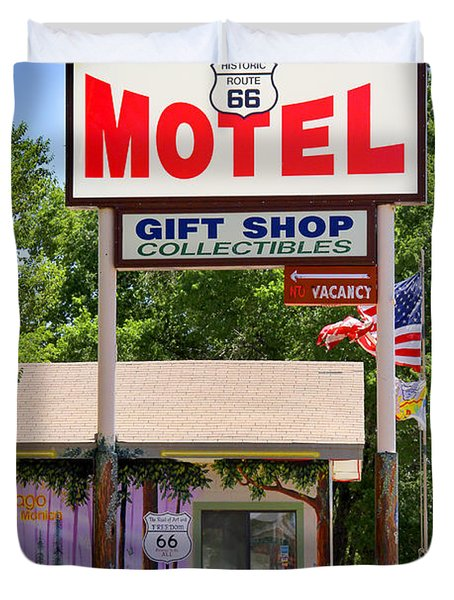 Aztec Motel -  Seligman Duvet Cover