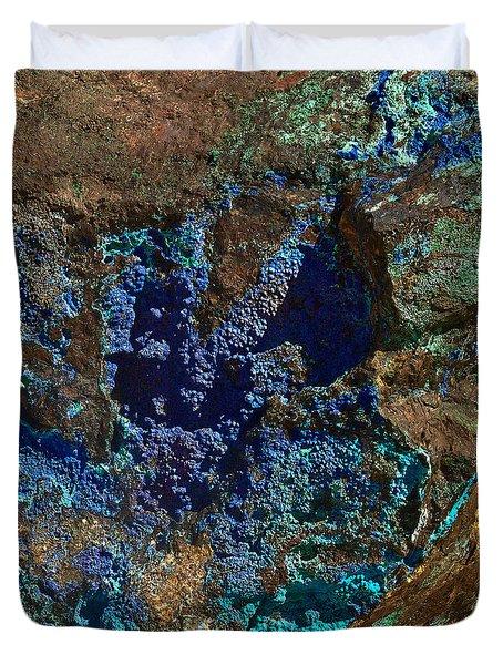 Azurite Duvet Cover