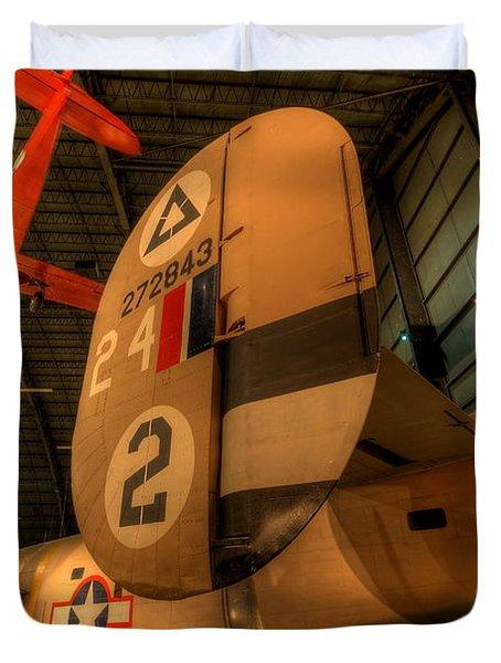 B-24 Liberator Tail Duvet Cover