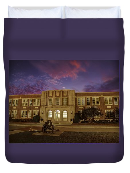 B C H S At Dusk Duvet Cover