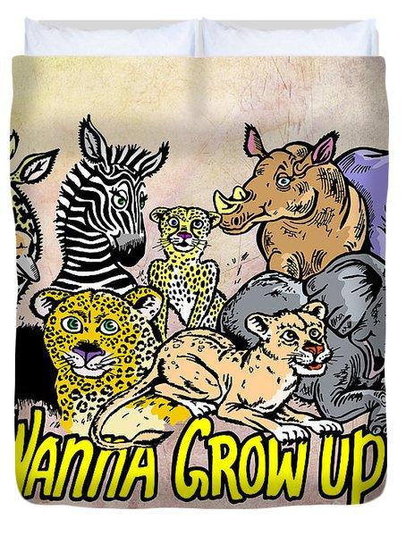 Baby Animals Duvet Cover