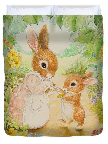 Baby Bunny Duvet Cover