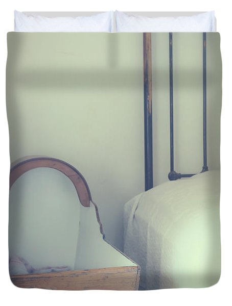 Baby Crib Duvet Cover by Joana Kruse