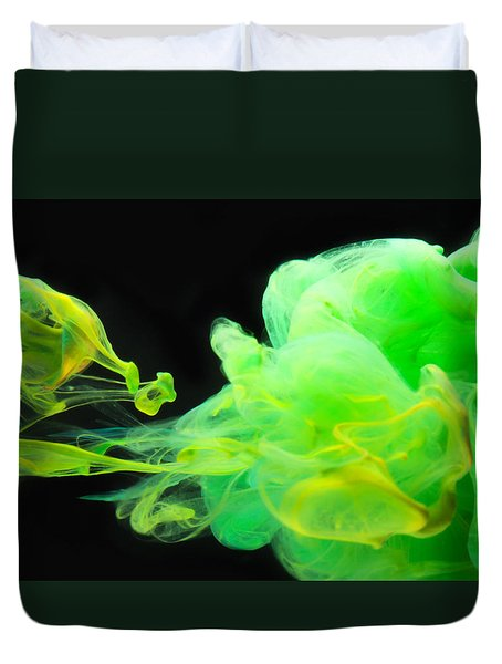 Baby Dragon - Abstract Photography Wall Art Duvet Cover by Modern Art Prints