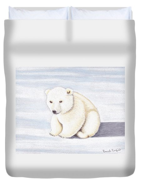 Baby Polar Bear Duvet Cover