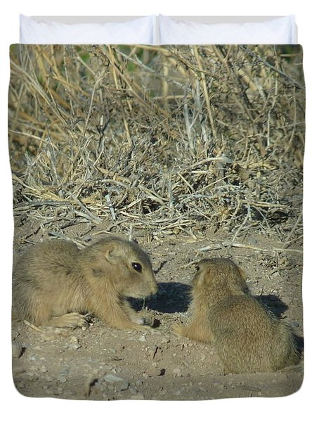 Baby Prairie Dog Duvet Cover