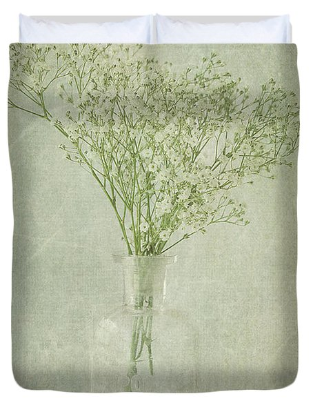 Baby's Breath Duvet Cover