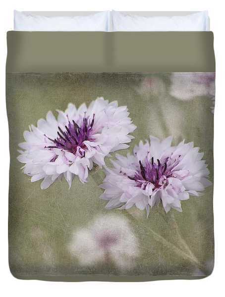 Bachelor Buttons - Flowers Duvet Cover