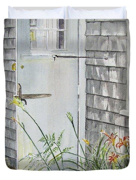 Back Door Nantucket Duvet Cover