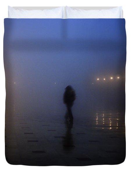 Back Home Alone Duvet Cover
