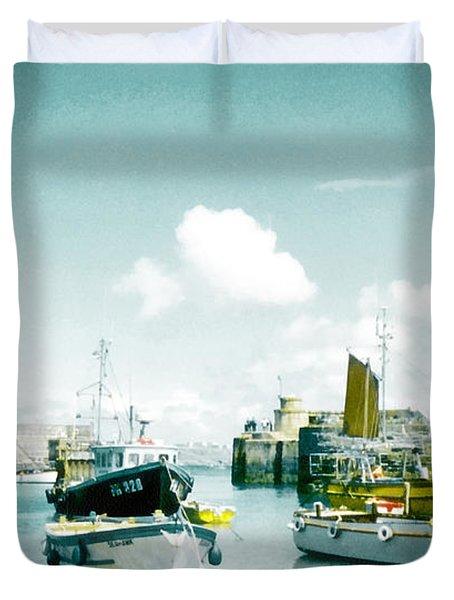 Back In The Olden Days Duvet Cover by Steve Taylor