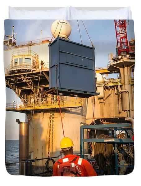 Backloading Equipment Duvet Cover