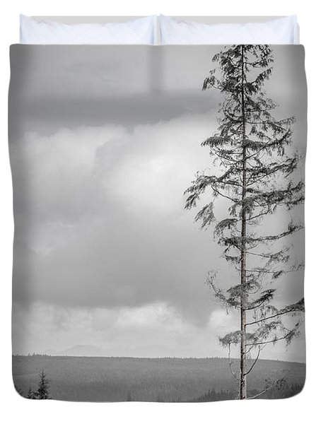 Tall Tree View Duvet Cover
