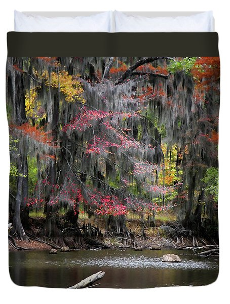 Backwater Autumn Duvet Cover