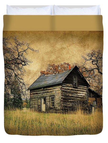 Backwoods Cabin Duvet Cover
