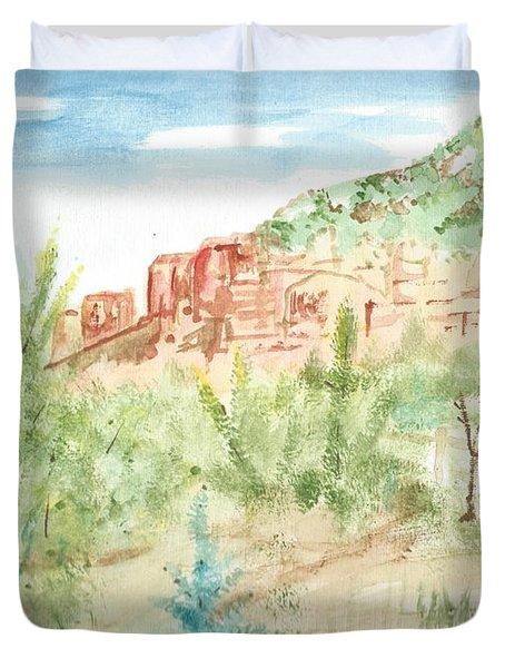 Backyard Sedona Duvet Cover
