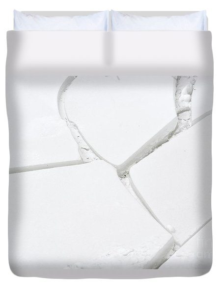 Bad Connection Duvet Cover by Randy Bodkins