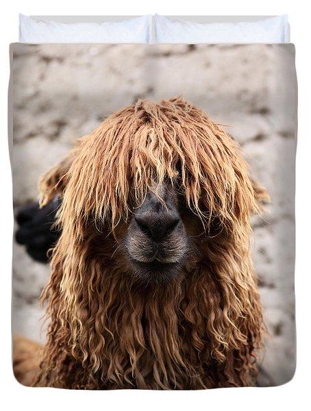 Bad Hair Day Duvet Cover by James Brunker