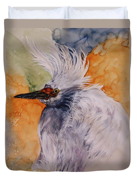 Bad Hair Day Duvet Cover by Lil Taylor