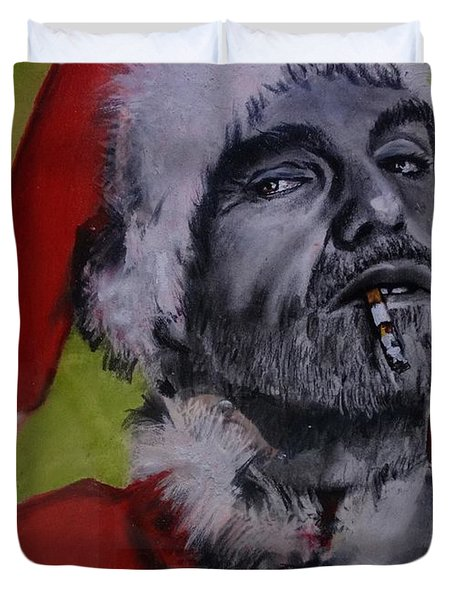 Bad Santa Duvet Cover