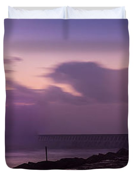 Bad Weather In Oporto 2014 Duvet Cover