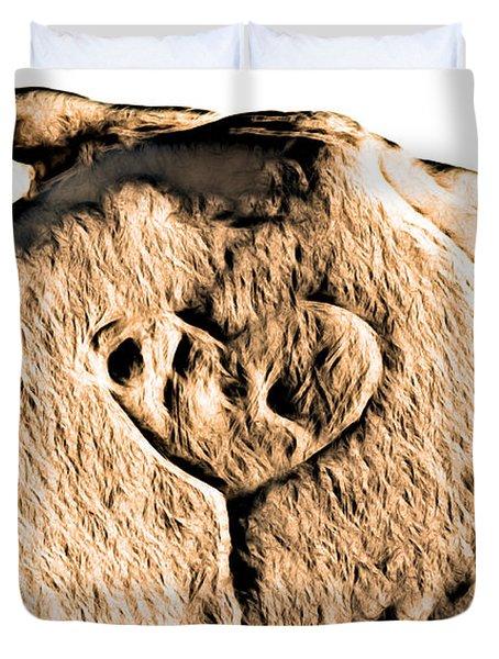 Badlands Love Duvet Cover