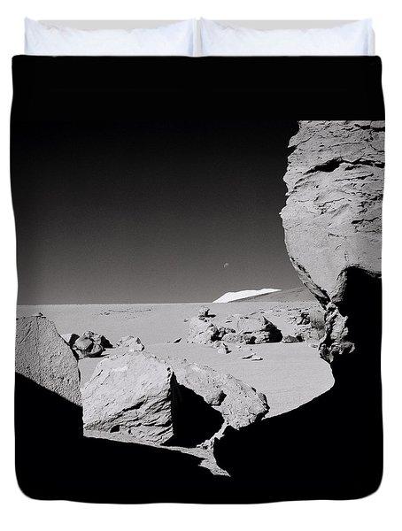 The Earth Duvet Cover by Shaun Higson